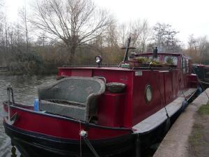 Canal boat, Kings Cross