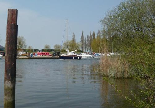 The Waveney, which feeds Oulton Broad