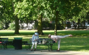 Tai Chi in Russell Square